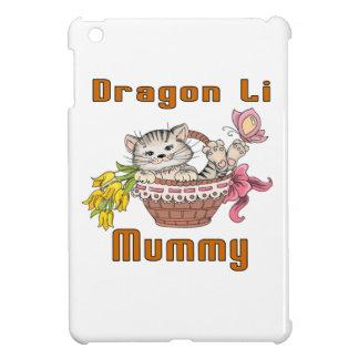 Dragon Li Cat Mom iPad Mini Cover