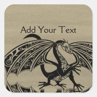 Custom dragon tattoo stickers for Custom tattoo stickers