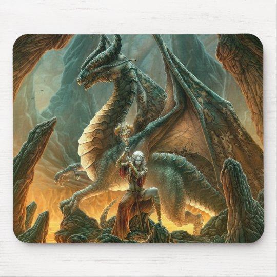Dragon Mage Mousepad