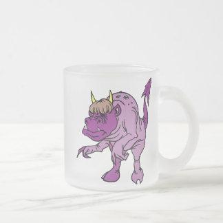 Dragon Magic 48 Frosted Glass Mug