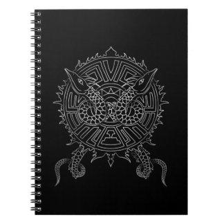 Dragon Mandala Tattoo Design Notebook