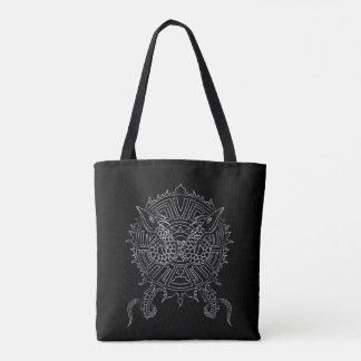 Dragon Mandala Tattoo Design Tote Bag
