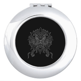 Dragon Mandala Tattoo Design Vanity Mirrors