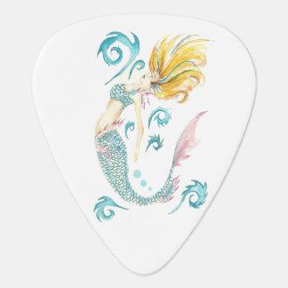 Dragon Mermaid Luna Guitar Pick