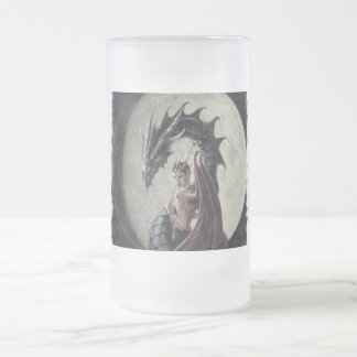 Dragon Mistress - Frosted Glass Stein