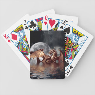 Dragon & Moon Fantasy Mythical Playing Cards
