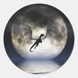 Dragon Moon Stickers