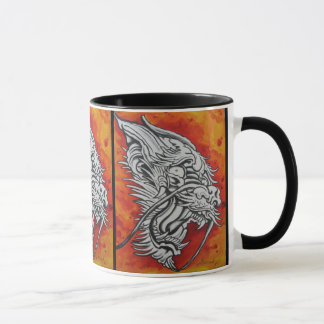 Dragon mug by Dana Tyrrell
