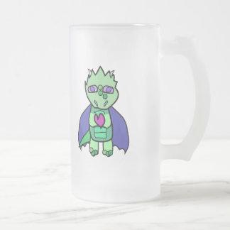 Dragon mug with heart