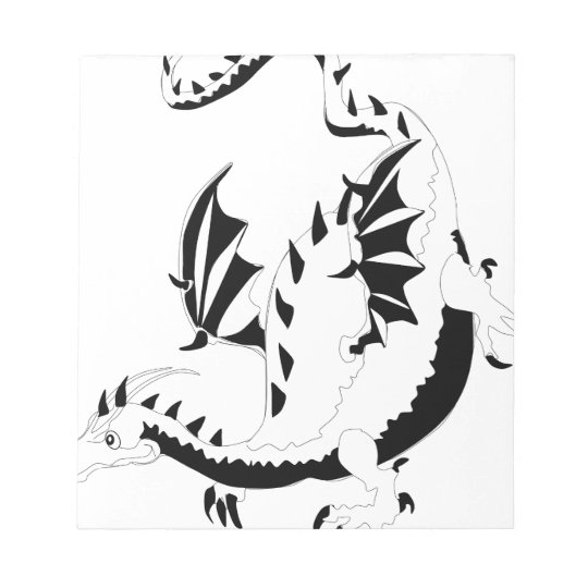 dragon notepad
