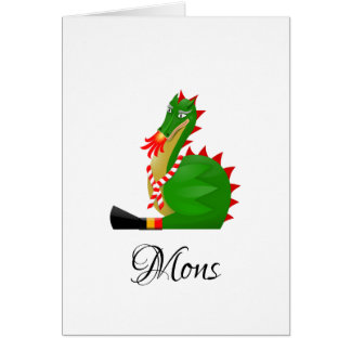 Dragon of the city Mons, Belgium Card