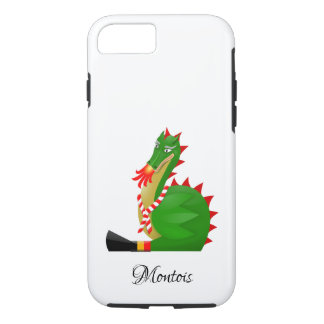 Dragon of the city Mons, Belgium iPhone 8/7 Case