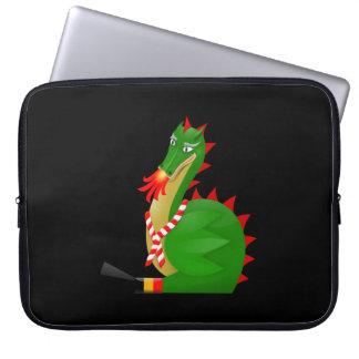 Dragon of the city Mons, Belgium Laptop Sleeve