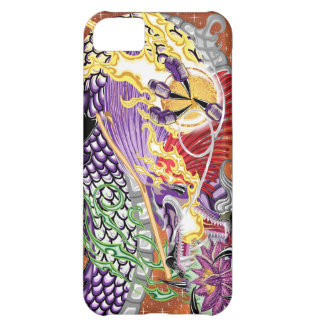 Dragon Of The Lotus iPhone 5 Case