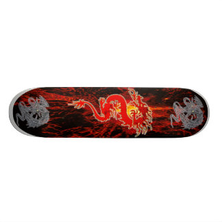 Dragon on Fire Skate Board Decks