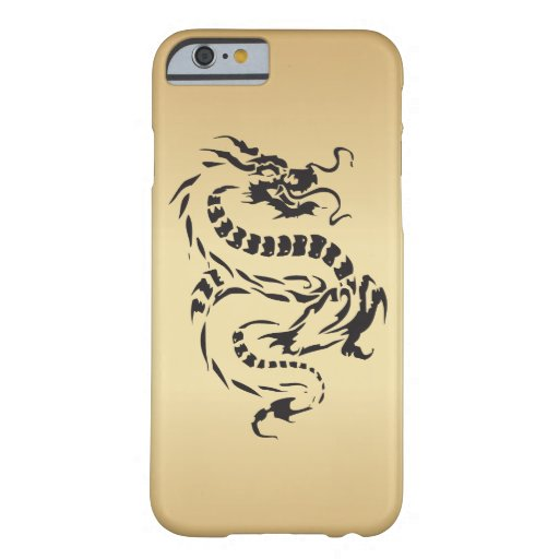 Dragon on Gold iPhone 6 Case