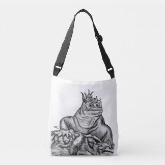 Dragon on the Rock Crossbody Bag