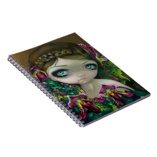 """""""Dragon Orchid"""" Notebook"""