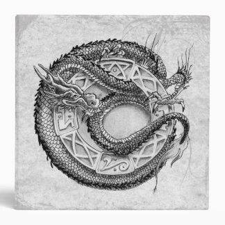 Dragon Ornamental 3 Ring Binder