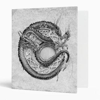 Dragon Ornamental Vinyl Binders