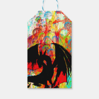 dragon pack of gift tags