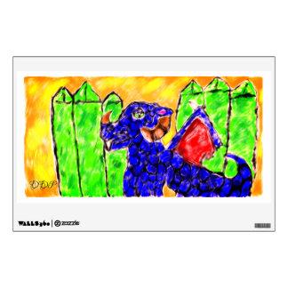 Dragon penidot wall decal