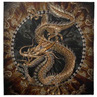 Dragon Pentagram Napkin