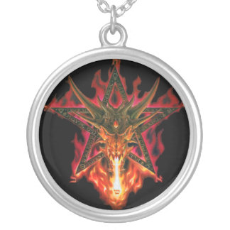 Dragon Pentagram Necklace