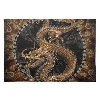 Dragon Pentagram Placemat