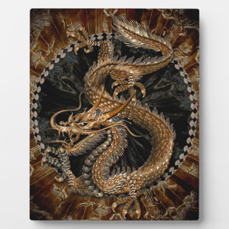 Dragon Pentagram Plaque