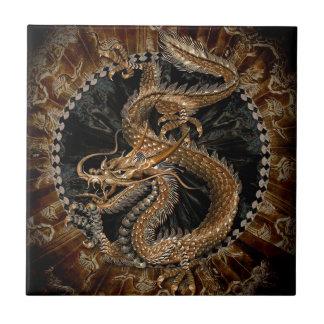 Dragon Pentagram Tile