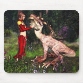 Dragon pet mousepad