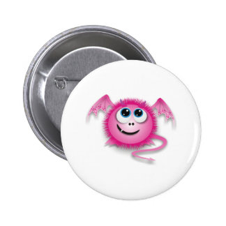 Dragon pinky 2 inch round button