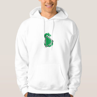 Dragon Play Button Side Retro Hoodie