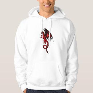 Dragon red hoodie