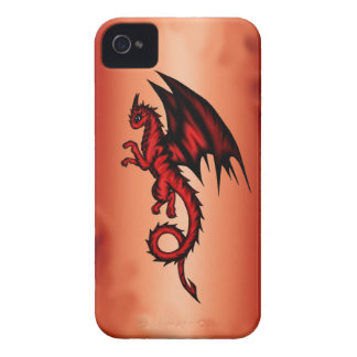 Dragon red iPhone 4 Case-Mate case
