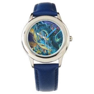 Dragon Rider and Sorcerer Wristwatch