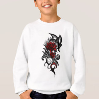 dragon rose sweatshirt
