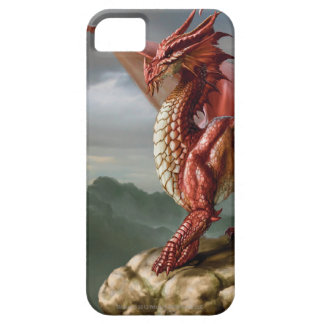 Dragon rouge coques iPhone 5