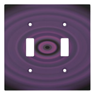 Dragon's Eye Purple Light Switch Cover