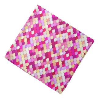 """""""Dragon Scales"""" - magenta, pink and gold Bandana"""