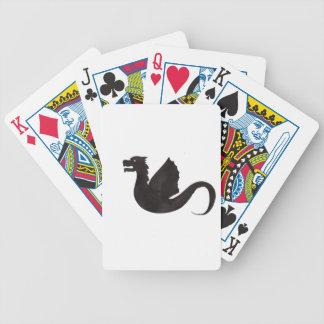 Dragon Silhouette Poker Deck