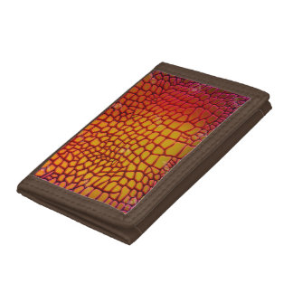 Dragon Skin Look Trifold Wallet