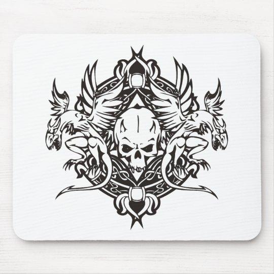 Dragon Skull Mouse Pad