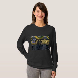 Dragon sky blend long sleeve T-Shirt