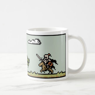 Dragon Slayer 8-Bit Pixel Art Mug
