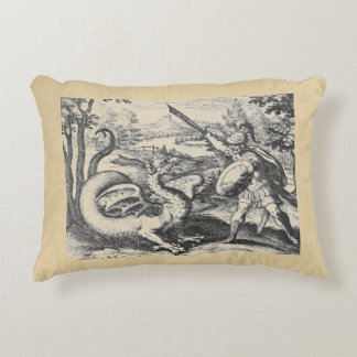 Dragon Slayer Alchemy Emblem Decorative Pillow