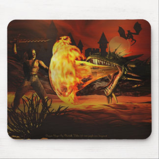 Dragon Slayer By Michelle Wilder Mousepad