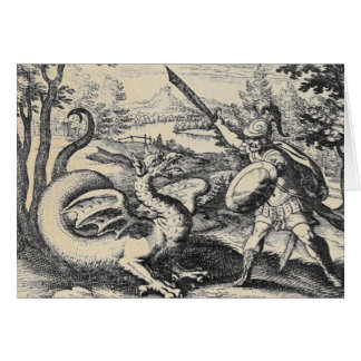 Dragon Slayer Gladiator Card