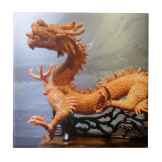 "Dragon Small (4.25"" x 4.25"") Ceramic Photo Tile"